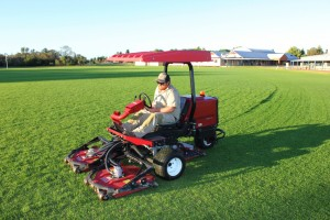 School Oval Mowing